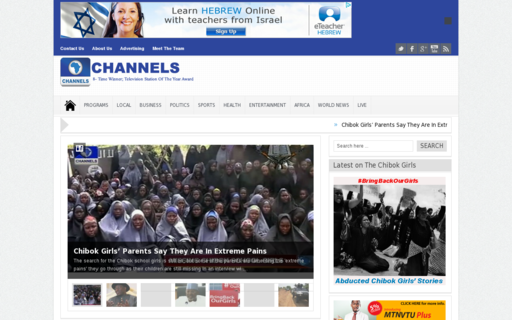 Access channelstv.com using Hola Unblocker web proxy