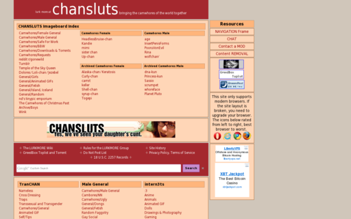Access chansluts.com using Hola Unblocker web proxy