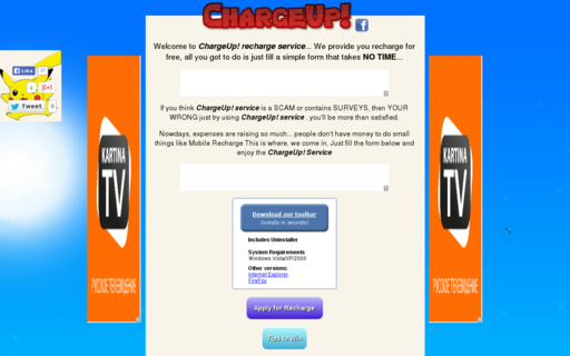 Access chargeup10.in using Hola Unblocker web proxy