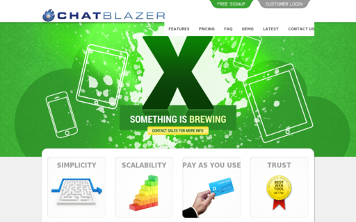 Access chatblazer.com using Hola Unblocker web proxy