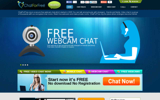 Access chatforfree.org using Hola Unblocker web proxy