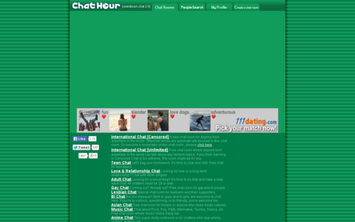 Access chathour.com using Hola Unblocker web proxy