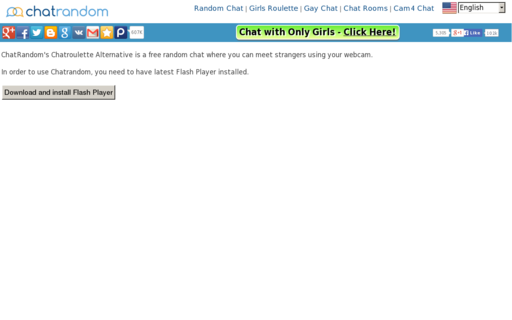 Access chatrandom.com using Hola Unblocker web proxy