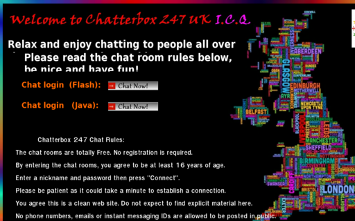 Access chatterbox247.co.uk using Hola Unblocker web proxy
