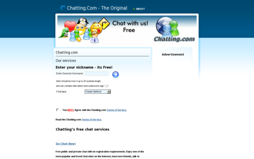 Access chatting.com using Hola Unblocker web proxy