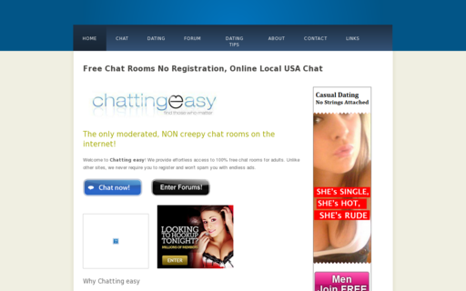 Access chattingeasy.com using Hola Unblocker web proxy