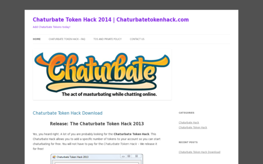 Access chaturbatetokenhack.com using Hola Unblocker web proxy