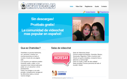 Access chatvideo.es using Hola Unblocker web proxy
