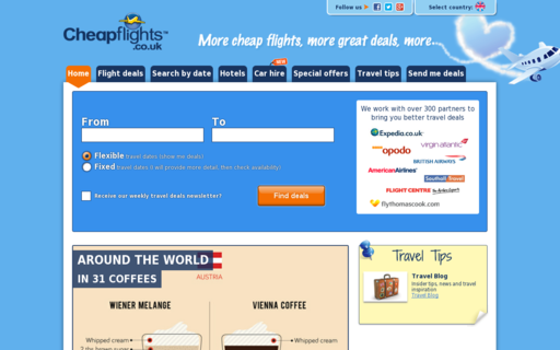Access cheapflights.co.uk using Hola Unblocker web proxy