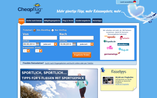 Access cheapflug.de using Hola Unblocker web proxy