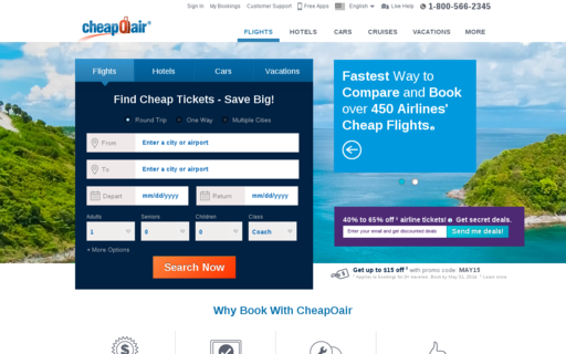 Access cheapoair.com using Hola Unblocker web proxy