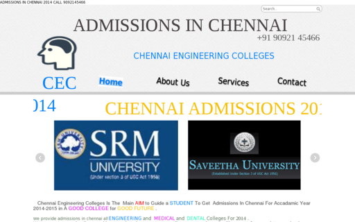 Access chennaiengineeringcolleges.in using Hola Unblocker web proxy