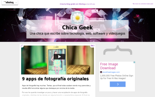 Access chicageek.com using Hola Unblocker web proxy