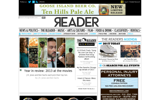 Access chicagoreader.com using Hola Unblocker web proxy
