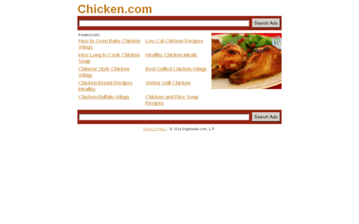 Access chicken.com using Hola Unblocker web proxy