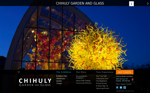 Access chihulygardenandglass.com using Hola Unblocker web proxy