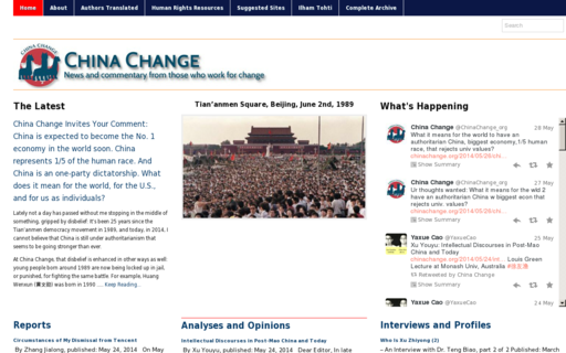 Access chinachange.org using Hola Unblocker web proxy