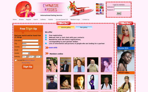 Access chinesekisses.com using Hola Unblocker web proxy