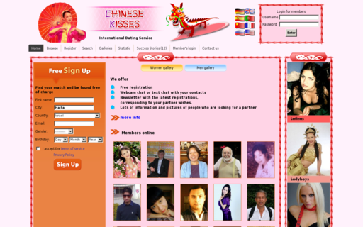 Access chinesekisses.de using Hola Unblocker web proxy