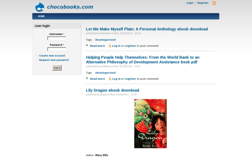 Access chocobooks.com using Hola Unblocker web proxy