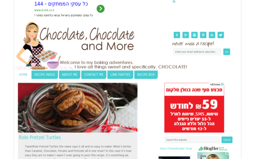 Access chocolatechocolateandmore.com using Hola Unblocker web proxy