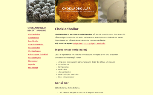 Access chokladbollar.net using Hola Unblocker web proxy