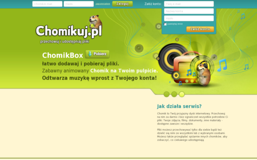 Access chomikuj.pl using Hola Unblocker web proxy