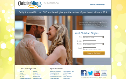 Access christianmingle.com using Hola Unblocker web proxy