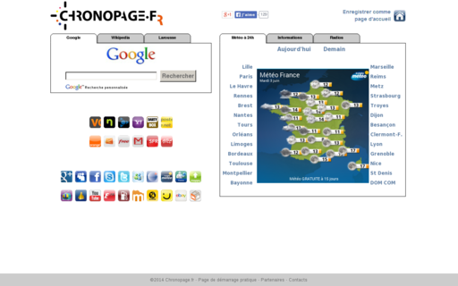 Access chronopage.fr using Hola Unblocker web proxy