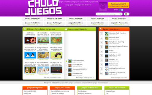 Access chulojuegos.com using Hola Unblocker web proxy