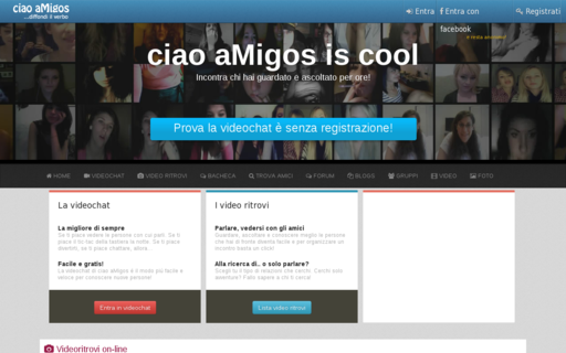 Access ciaoamigos.it using Hola Unblocker web proxy
