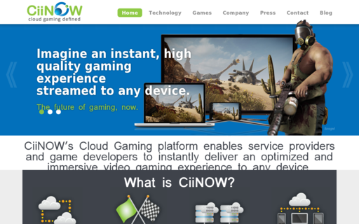 Access ciinow.com using Hola Unblocker web proxy