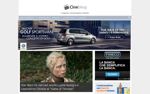 Access cineblog.it using Hola Unblocker web proxy