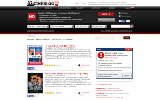 Access cineblog01.tv using Hola Unblocker web proxy
