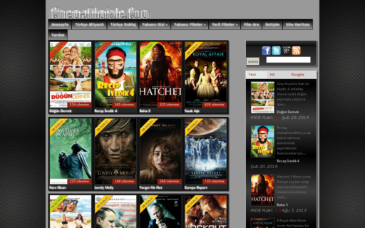 Access cinemafilmizle.com using Hola Unblocker web proxy