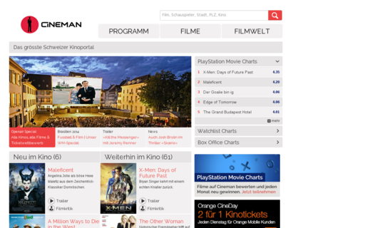 Access cineman.ch using Hola Unblocker web proxy