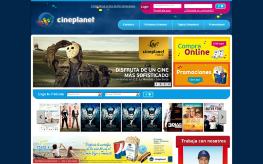 Access cineplanet.com.pe using Hola Unblocker web proxy