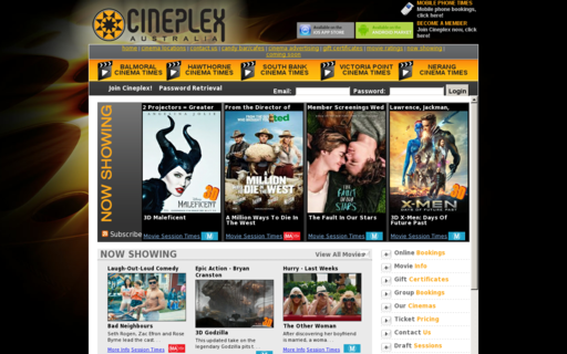 Access cineplex.com.au using Hola Unblocker web proxy
