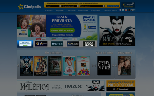 Access cinepolis.com using Hola Unblocker web proxy