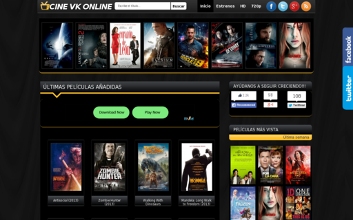 Access cinevk.com.ar using Hola Unblocker web proxy