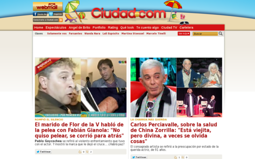 Access ciudad.com.ar using Hola Unblocker web proxy