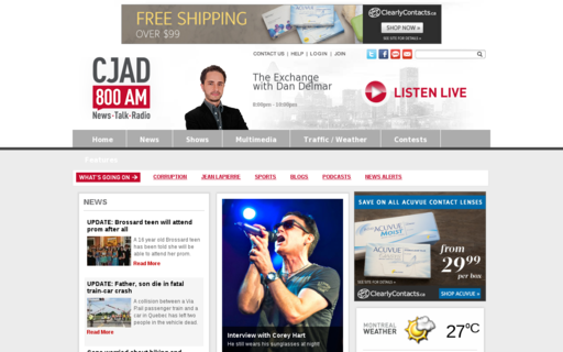 Access cjad.com using Hola Unblocker web proxy