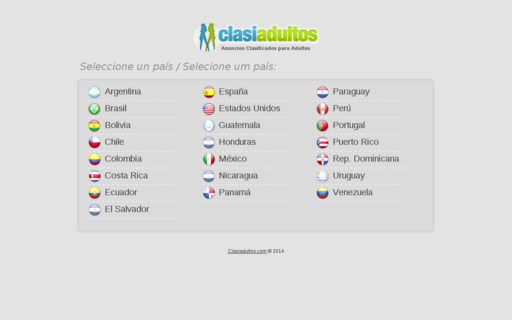 Access clasiadultos.com using Hola Unblocker web proxy
