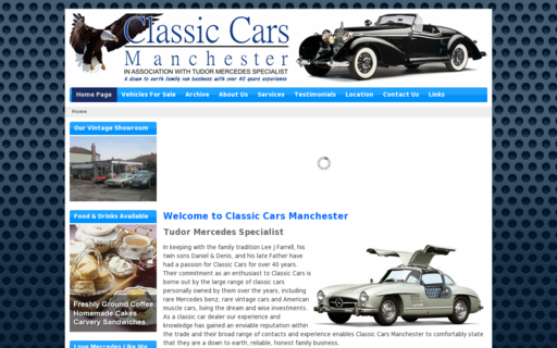 Access classiccarsmanchester.co.uk using Hola Unblocker web proxy
