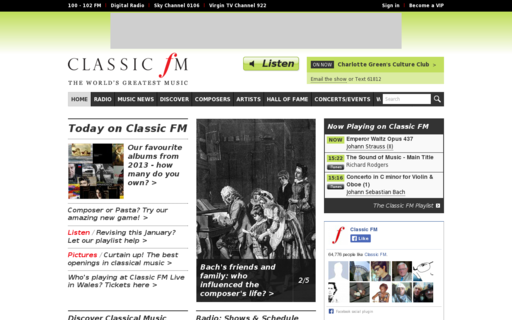 Access classicfm.com using Hola Unblocker web proxy
