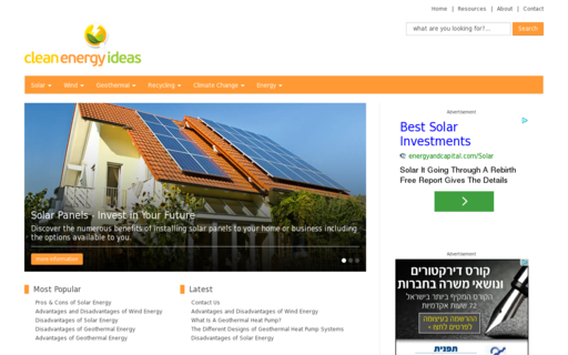 Access clean-energy-ideas.com using Hola Unblocker web proxy