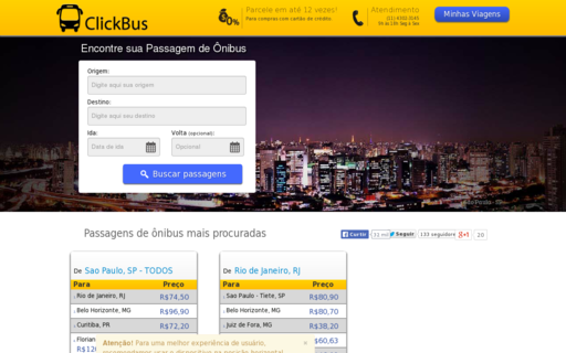 Access clickbus.com.br using Hola Unblocker web proxy
