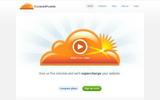 Access cloudflare.com using Hola Unblocker web proxy