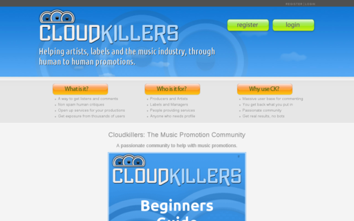 Access cloudkillers.com using Hola Unblocker web proxy