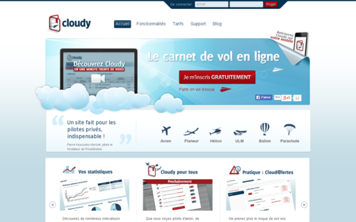 Access cloudy.fr using Hola Unblocker web proxy